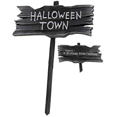 Jack Skellington Home Decor nightmare before christmas halloweentown wooden sign