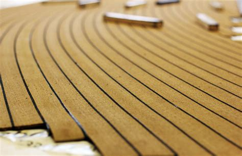 vinyl imitation teak boat decking bahrain decking - Synthetic Teak Decking For Boats