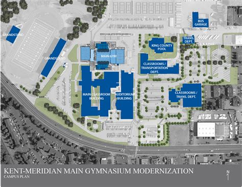 facility construction kent meridian addition building plan facility construction km gym remodel site plan