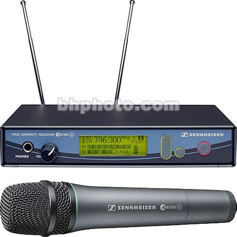 Microphone Wireless Mic Senheiser Ew 545 G2 sennheiser evolution g2 500 series uhf lavalier ew535g2 b