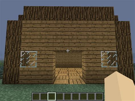 Minecraft Shed by Shed Minecraft Project