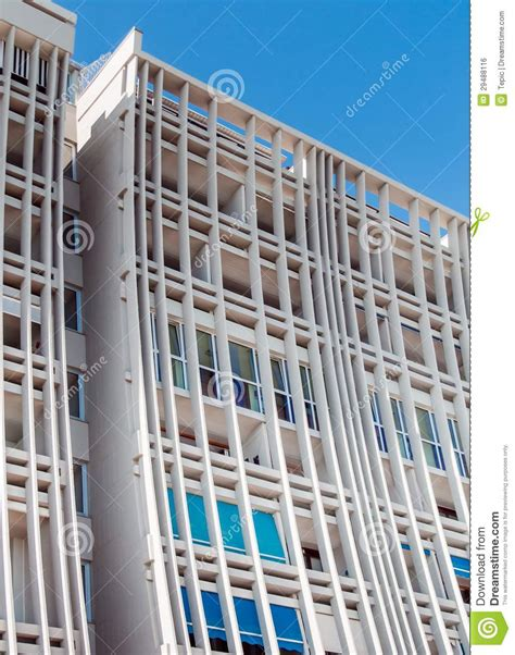 Modern Row House Plans - facade of a modern hotel royalty free stock image image 29488116