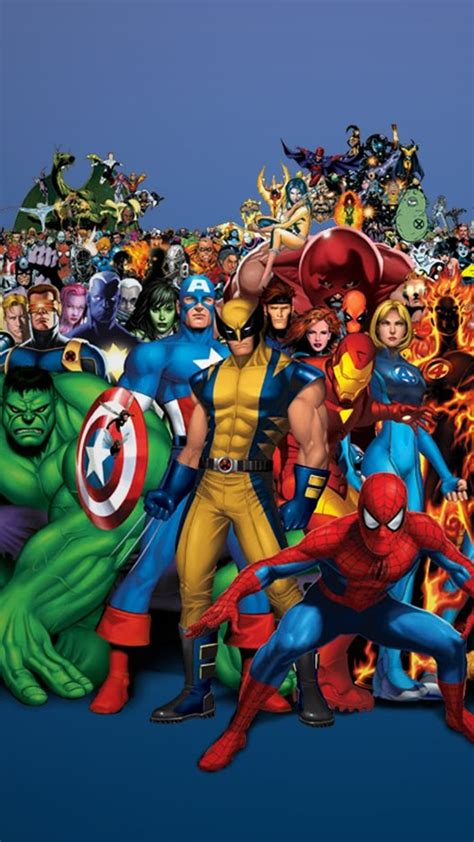 wallpaper android marvel marvel heroes hd wallpapers for android impremedia net