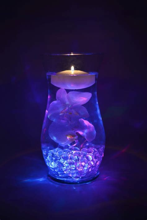 floral lights for vases best 25 led centerpieces ideas on lighted