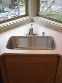 Corner Kitchen Sink Modern Julie Howe Gwinn S