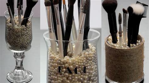 put in makeup brush holder diy 3 makeup brush holders