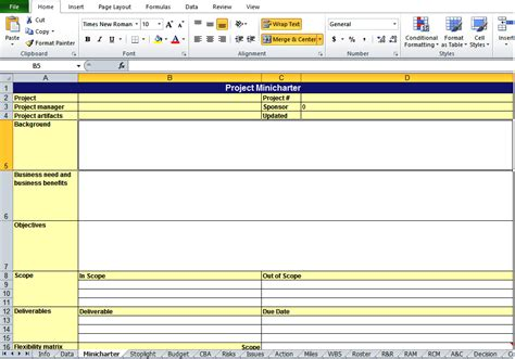 Get Project Work Plan Template In Xls Excel Tmp Project Work Plan Template