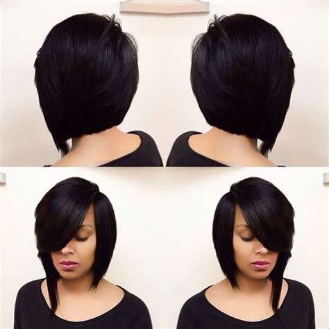 two toned asymetric bobs for black women pintrest 1000 images about hair or no hair on pinterest lace