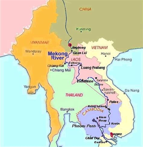 mekong river map weekly 18th 24th march 2013 that ol river the mighty mekong in laos writing ie