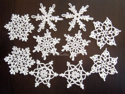 crochet snowflakes for sale vitalina craft