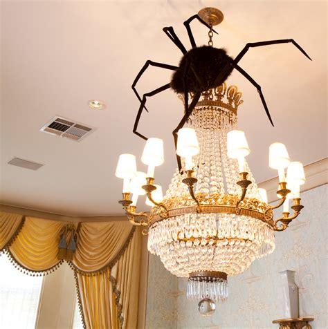 diy decorations hanging spider diy decor chandelier hanging decorating home easy