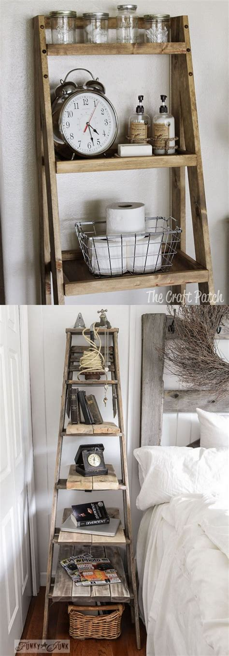 bathroom decorating with old ladder 17 best ideas about ladder shelves on pinterest bathroom