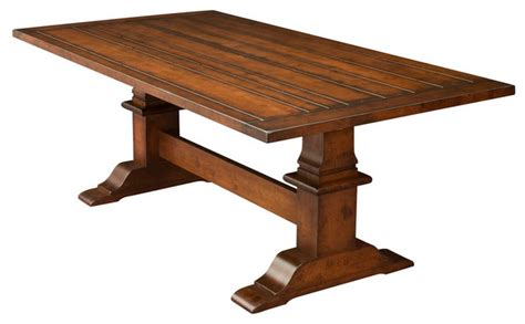 trestle tables traditional dining tables detroit