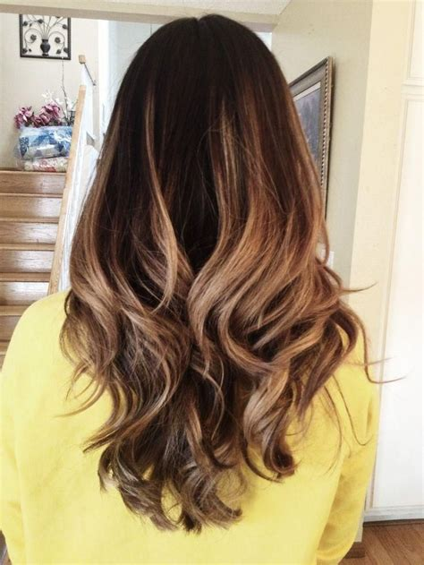 hairstyles blonde ends dark ombre hair into ash blonde ends ombr 233 and balayage