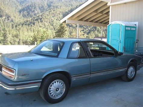 auto air conditioning service 1994 buick regal auto manual buy used 1994 buick regal custom coupe 2 door 3 1 lvery low miles 87k always garaged in