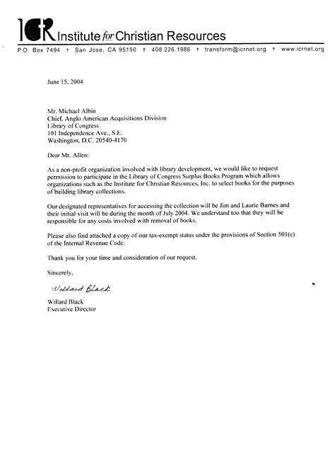Fundraising Letter For Library Sle Donation Request Letter Template