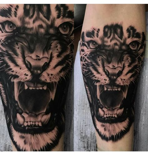 vengeance tattoo roaring tiger by aj vengeance wahiawa hi