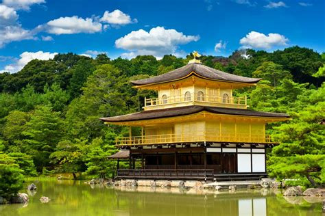 pavillon japan kyoto kinkakuji japan