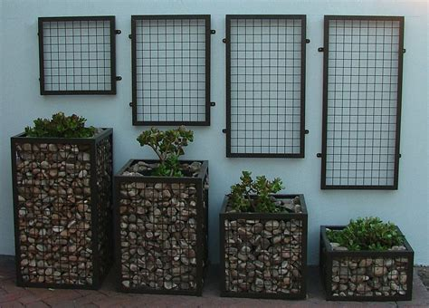 Planters Modern by Gabion Walls What They Are And How To Use Them In Your