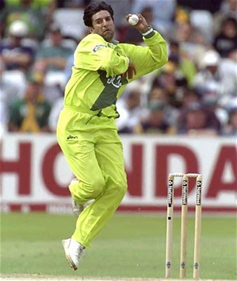 Wasim Akram Swing Bowling kricket world wasim akram the king of swing