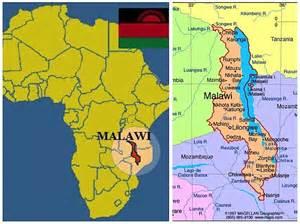 Malawi Africa Map by Zikomo Malawi Africa