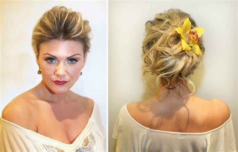 Hairstyles For Hair On Wedding Day by 5 Wedding Day Hairstyles