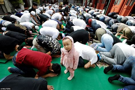 millions of muslims celebrate the islamic holy day eid al