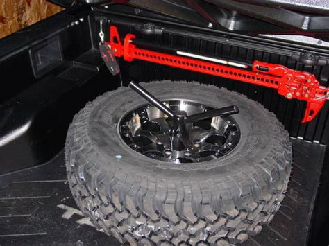 spare tire bed mount bed spare tire rack mod tacoma world forums
