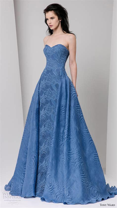 Gown Blue trubridal wedding tony ward fall 2016 ready to wear
