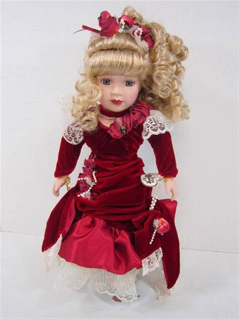 the porcelain doll collection porcelain doll 1999 camellia garden hair doll