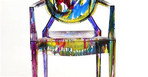 Philippe Starck Chair Kartell Louis Ghost Chair Multi Coloured By Philippe