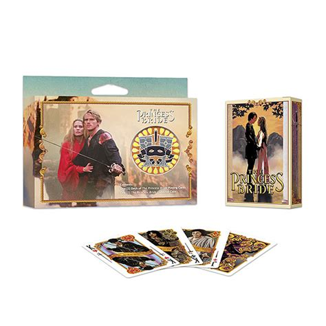 Playing Cards Gift Sets - the princess bride playing cards gift set thinkgeek
