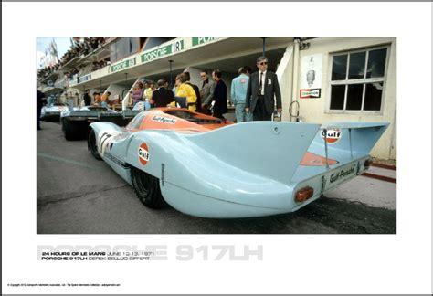 PORSCHE 917LH DEREK BELL/JO SIFFERT   24 HOURS OF LE MANS