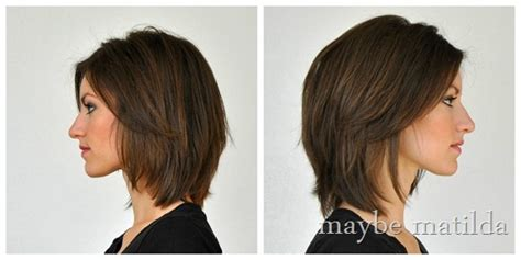 growing out reverse bob fine hair growing out shoulder length layered hair