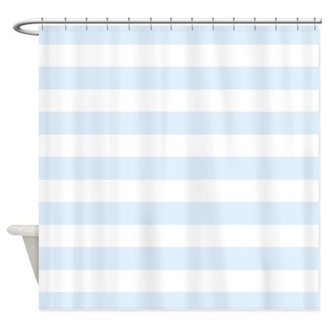white striped shower curtain light blue and white stripe shower curtain by