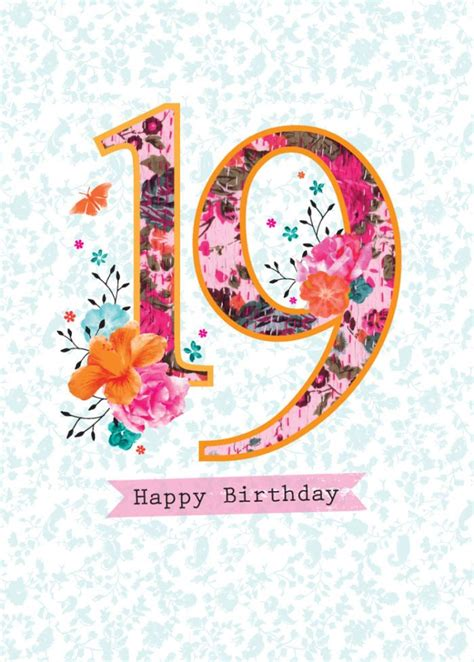 Happy 19th Birthday Wishes 25 Best Ideas About Happy 19th Birthday On Pinterest