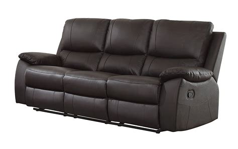 best reclining sofas sofas marvelous power reclining sofa brown leather