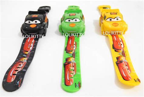 Jam Tangan Anak Cars jual jam tangan anak mobil cars ada bagasi mainan mobil