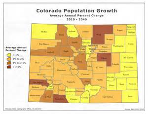 colorado population map state demography office