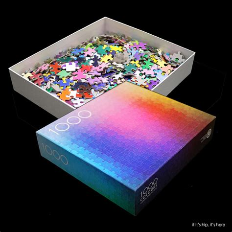 Cmyk Color Spectrum Puzzle by Insanely Difficult The 1000 Colours Puzzle By Clement