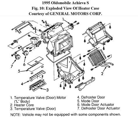 replace 174 oldsmobile eighty eight 1986 1990 heater core 1998 oldsmobile intrigue heater core replace heater core ebay heater for 1998 oldsmobile aurora
