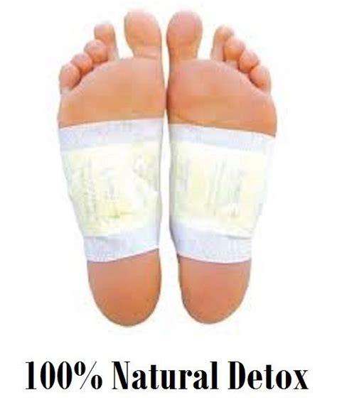 Ab Detox Inc 100 x herbal detox foot pads patches remove toxins