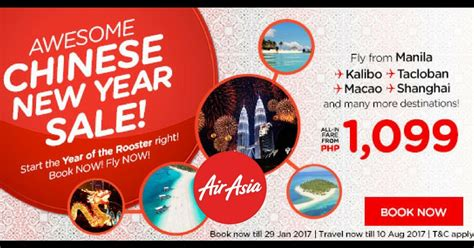 airasia year end grand sale 2017 airasia philippines chinese new year promo 2017