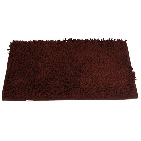 Thick Bathroom Rugs by 1pcs Washable Bathroom New Shaggy Rugs Non Slip Bath Mat Thick Brown Ed Ebay