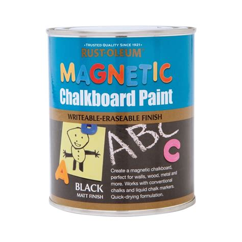 dulux chalkboard paint price malaysia rust oleum magnetic chalkboard paint 750ml at homebase co uk