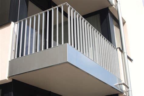 balkongeländer stahl balkongel 228 nder metallbau senge