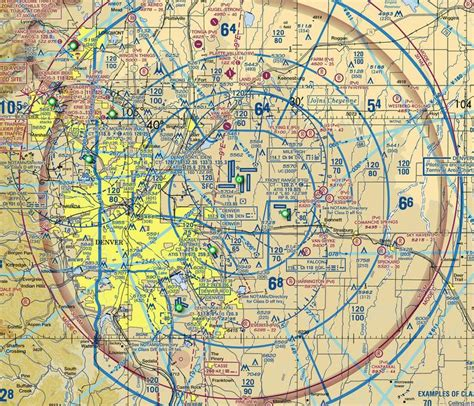 canadian sectional charts visual flight rules what are the differences between