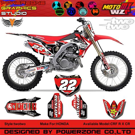 Decal Sticker Striping Honda Crf 230 Repsol buy crf 250 450 2014 muscele milk team graphics