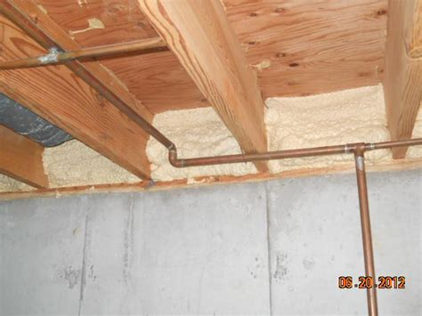spray foam for floor joists pictures to pin on