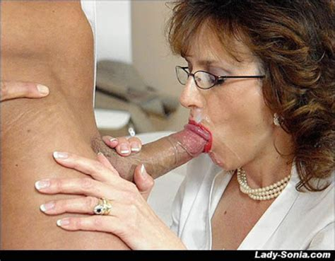 Cum All Over My Face British Milf Sucking Young Cock And Getting A Mouthful
